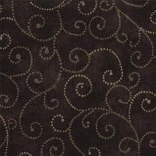 9908-29 Marble Tone on Tone Gray Swirls on Black by MODA