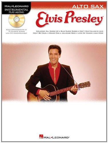 Hal Leonard Instrumental Play-Along: Elvis Presley (Alto Saxophone): Play-Along, CD für Alt-Saxophon