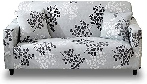 Best HOTNIU Stretch Sofa Slipcover 1-Piece Polyester Spandex Fabric Couch Cover Chair Loveseat Furniture
