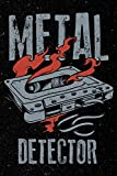 Metal Detector: Heavy Metal Rock Music Cornell Note Taking System Notebook For Students