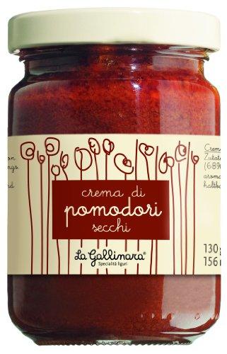 La Gallinara Crema di Pomodori secchi / Creme von getrockneten Tomaten 130 gr.