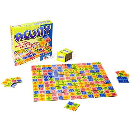 Fat Brain Toys - 'Acuity, Gioco di percezione e Reazione da Tavolo, per 2 Giocatori, a...