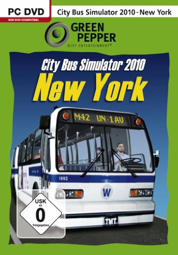 City Bus Simulator 2010: New York [Green Pepper]