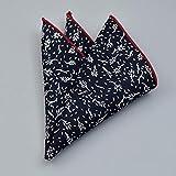 SKYyao Mouchoir de Poche Costume Poche écharpe Mens modèle Poche Serviette Pliage Petite Serviette carré Coton 25 cm * 25 cm