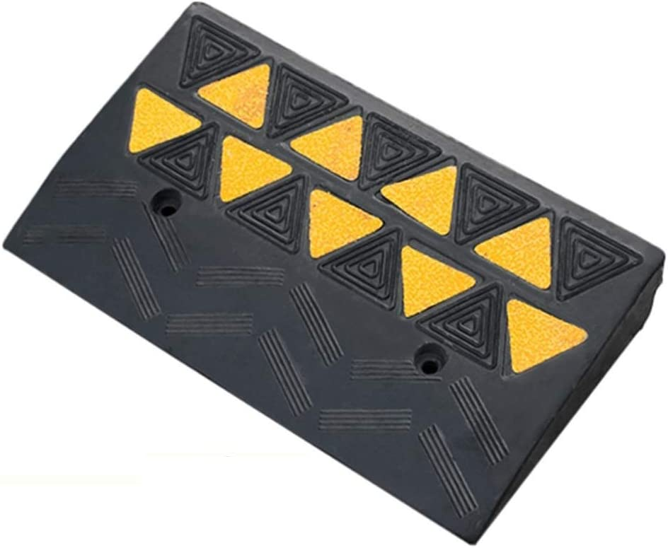 YANJINGYJ Curb Ramp No Deformation Shock Threshold Max 71% OFF Absorp Ranking integrated 1st place