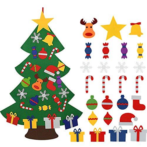 ZGHYBD DIY Felt Christmas Tree,...