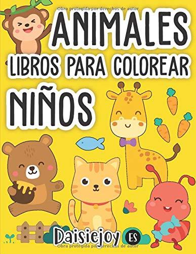 Libros para Colorear Niños: Animales