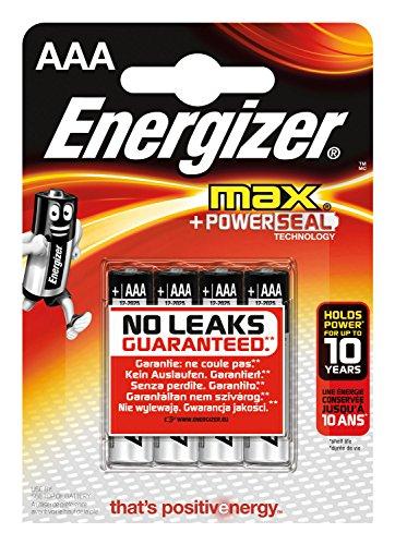 Energizer - 1 blister de 4 pilas lr03 AAA max
