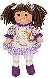 Betz Kinder Stoffpuppe Camilla Größe ca.30 cm Farbe lila