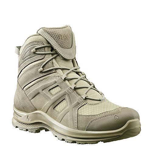 Haix Black Eagle Athletic 2.0 V T mid/Desert Atmungsaktiver Desert Boot mit Veloursleder. 42