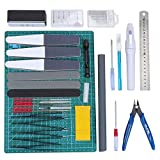WiMas 33 PCS Gundam Model Tools Kit Hobby Building Craft Set for Basic Model Building Repairing