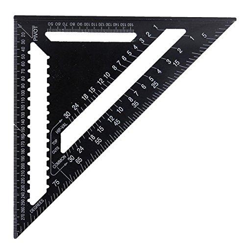 RFElettronica, Raitool AR01 - Regla métrica triangular, de aluminio, 43 x 30 x 30 cm