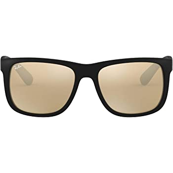 Ray-Ban Rb4165f Justin Asian Fit Square Sunglasses