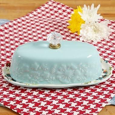 Pioneer Woman 8 Inch Kari Butter Dish