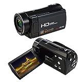Videocámara Video 1080P HD Cámara de Video Digital Ligera Adelgaza con HDMI 270 Grados de rotación cámaras Digitales DV