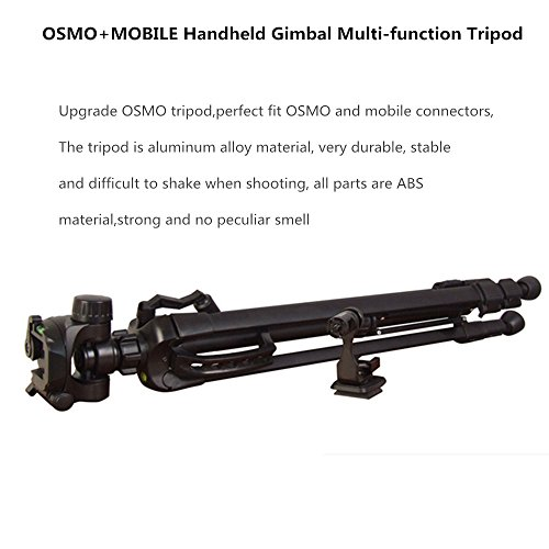 Tripod Stand Extension Mount for DJI Osmo Handheld 4K Camera Pluse Mobile, Accessories for DJI Osmo/DJI OSMO+ Plus/DJI OSMO Pro/Raw/DJI Osmo Mobile 1 / DJI Osmo Mobile 2