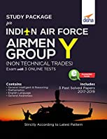 Study Package for Indian Air Force Airmen Group Y (Non-Technical Trades) Exam with 3 Online Sets
