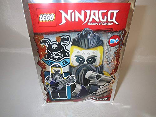 LEGO Ninjago Figur Sawyer mit Kettensäge - Limited Edition - 891835 - Polybag -
