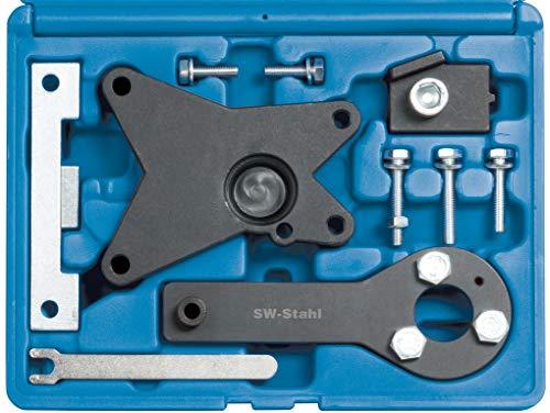 SW-Stahl 26134L Motor Einstellwerkzeugsatz FIAT, Ford, Lancia 1.2l /1.4l 8-Ventil/Benzin-Motoren/Zahnriemen-Wechsel/Arretierung von Nockenwelle und Kurbelwelle/Einstellen der Steuerzeiten