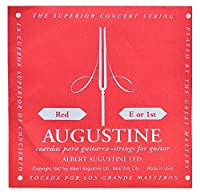 AUGUSTINE オーガスチン クラシックギターバラ弦 RED 1
