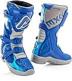 Acerbis X-Team Stivali Motocross per bambini Blu/Grigio 39