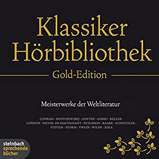 Die Klassiker-Hörbibliothek (Gold-Edition) Titelbild