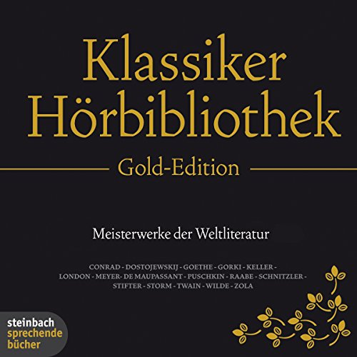 Die Klassiker-Hörbibliothek (Gold-Edition) audiobook cover art