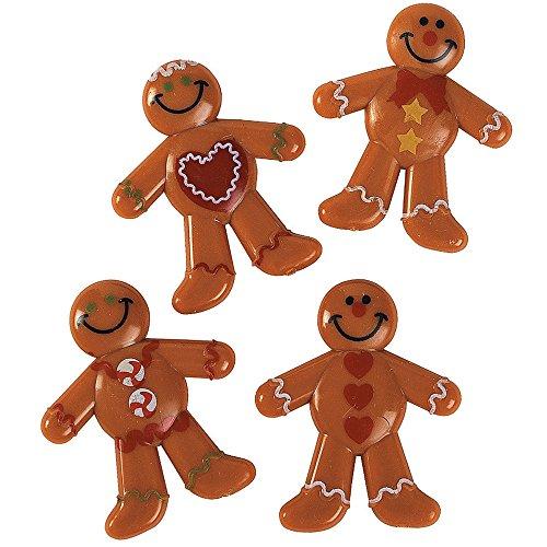 Elfen und Zwerge 8 x Lebkuchenmann Pfefferkuchen Lebkuchen Weihnachten Adventskalender