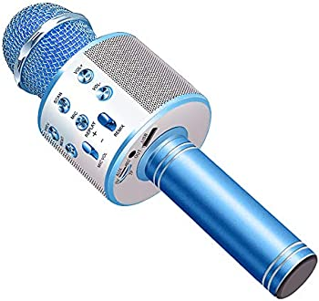 Anburt Wireless Bluetooth Karaoke Microphone Speaker