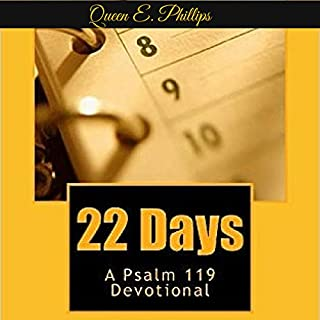 22 Days: A Psalm 119 Devotional audiobook cover art