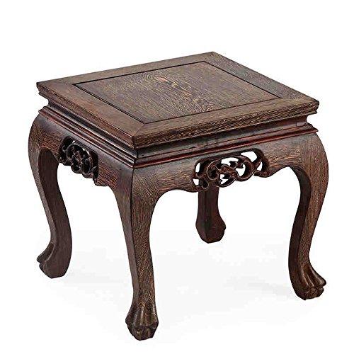 Krukken Brisk- vleugels houten korte mahonie salontafel zitten voor schoenen massief hout bank