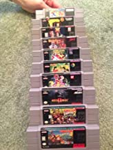 Donkey Kong Country 2 & 3, Mortal Kombat 2, Ren & Stimpy, Mighty Morphin Power Rangers, Clayfighter and 4 More! (Super Nintendo System Games)