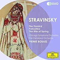Stravinsky: The Firebird the Rite of Spring Petrus by BOULEZ / CHICAGO SYM ORCH (2012-02-14)