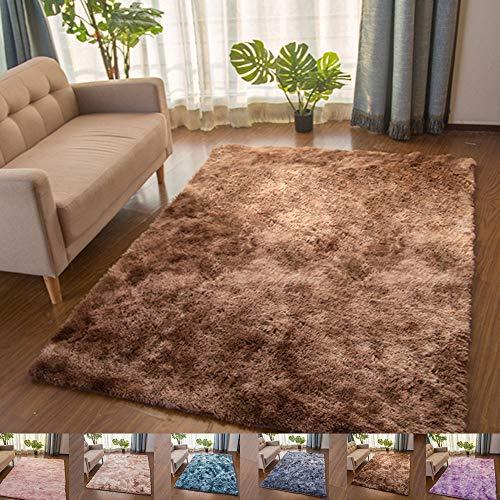 Fluffy zachte kinderkamer tapijt baby kinderkamer Decor, Anti-Skid groot gebied tapijten, voor woonkamer gang balkon slaapkamer, Khaki