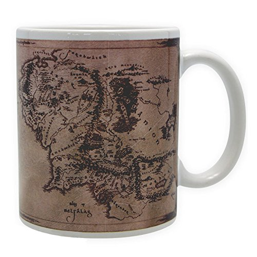 ABYstyle - Lord of the ring- Tasse - 320 ml - Karte