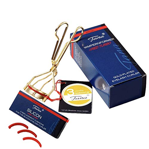 Tana Cosmetics® RED TURBO Wimpernformer Silicon - Wimpernzange + 3 Ersatzsilikone