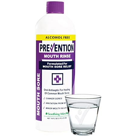 Prevention Mouth Sore Mouthwash   Alcohol Free   Canker Sore Treatment