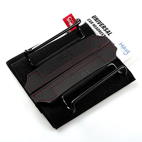 Hikig Car Headrest Mount Holder for all Kindle Fire - Kindle Fire HD 6 / HD 7 / HD X7 / HD X9 / HD 6 (2014) / HD 7 (2014) / HD 6 (Kid Edition) / HD 7 (Kid Edition) / New Fire 7 (2015) / HD 8 / HD 10