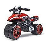FALK Falk Racing Team - Moto draisana para niños a Partir de 2 años, Fabricada en Francia, Ruedas Extra Anchas Que desarrollan el Equilibrio y la motricidad, 530