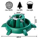 KADAX Weihnachtsbaumständer mit Wassertank