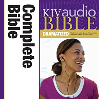 Dramatized Audio Bible - King James Version, KJV: Complete Bible audiobook cover art
