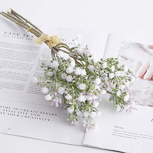 YYWK Simulatie bloemen zet bos van kleine starflower verse wilde plant huisdecoratie bruiloft rekwisieten nep boeket potplanten