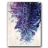QVQIU Cartel Abstracto Art Deco Digital Colorido Impresión de Lienzo nórdico Pintura de Arte Moderno Decoración Imagen Sala de Estar Decoración Sin Marco A4 21x30cm