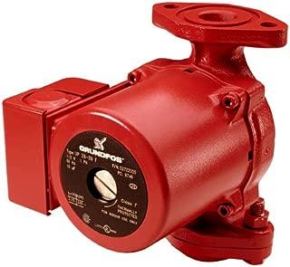 Grundfos 52722341 Up26-96F 1/12Hp,115V,1Spd,Pump