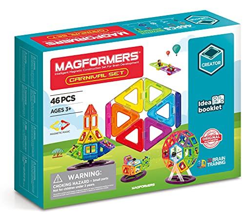 Magformers - 703001 - Set de construcción - Super Magformers 46 Piezas - Versión en Inglés