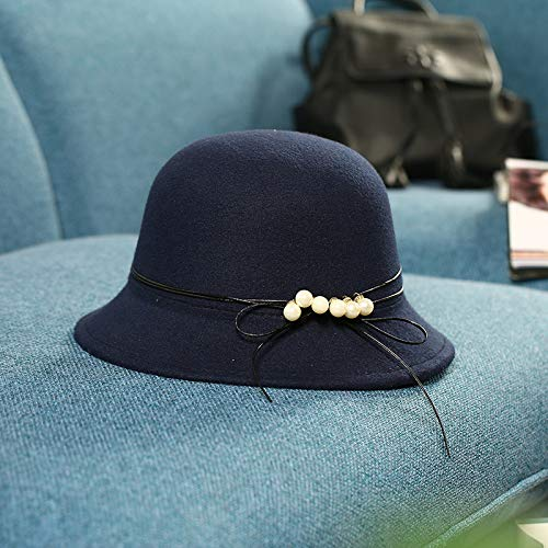 XQJDD MNBVCX Versión Coreana del Sombrero De Las Señoras Gorro De Lana Tres Bolas De...