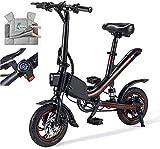 Bicicleta Eléctrica Plegable Bicicleta eléctrica de nieve, bicicletas eléctricas para adultos, bicicleta plegable de llantas de grasa con 6.6Ah / 7.8Ah batería de litio con estilo ebiike, puede cambia