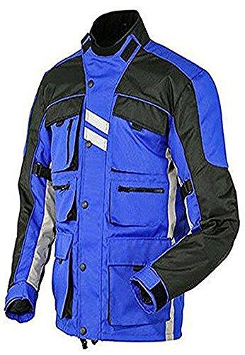 Juicy Trendz Hombres Moto Motocicleta Impermeable Textil Cordura Chaqueta