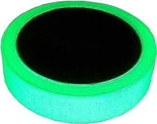 Cinta luminosa que brilla en la oscuridad de 5 m x 20 mm, cinta luminosa verde fotoluminiscente extraíble para escenario de teatro, fiesta, marcador de salida de seguridad