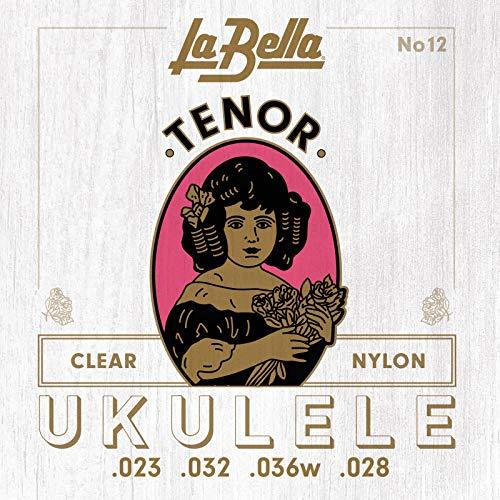 CUERDAS UKELELE - La Bella (12) Tenor (Juego Completo)